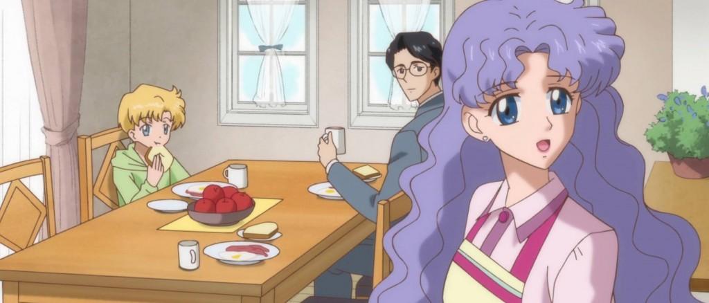 The Tsukino Family (Ep. 15 of Sailor Moon Crystal)