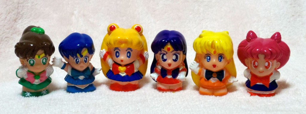 Sailor Moon Finger Puppets