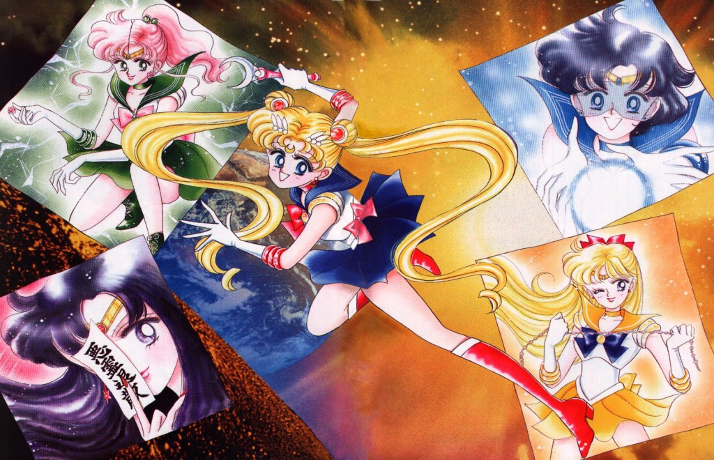 The Five Inner Senshi