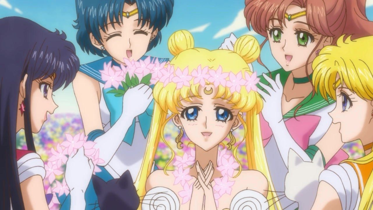 The Sailor Soldiers and Their Princess
