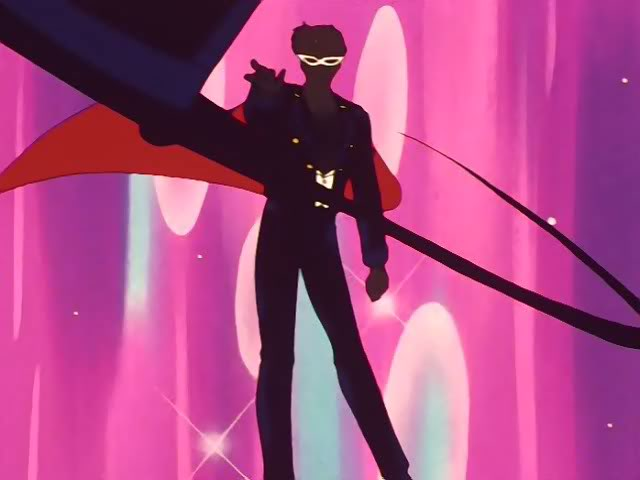 Tuxedo Mask's Anime Transformation (ep. 19)