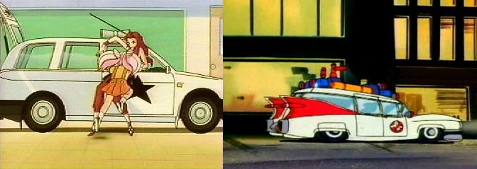 Eudial's Station Wagon and the Ecto-1