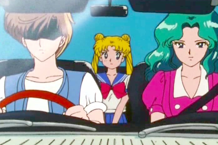 Michiru Knows You Should Click-it or Ticket!