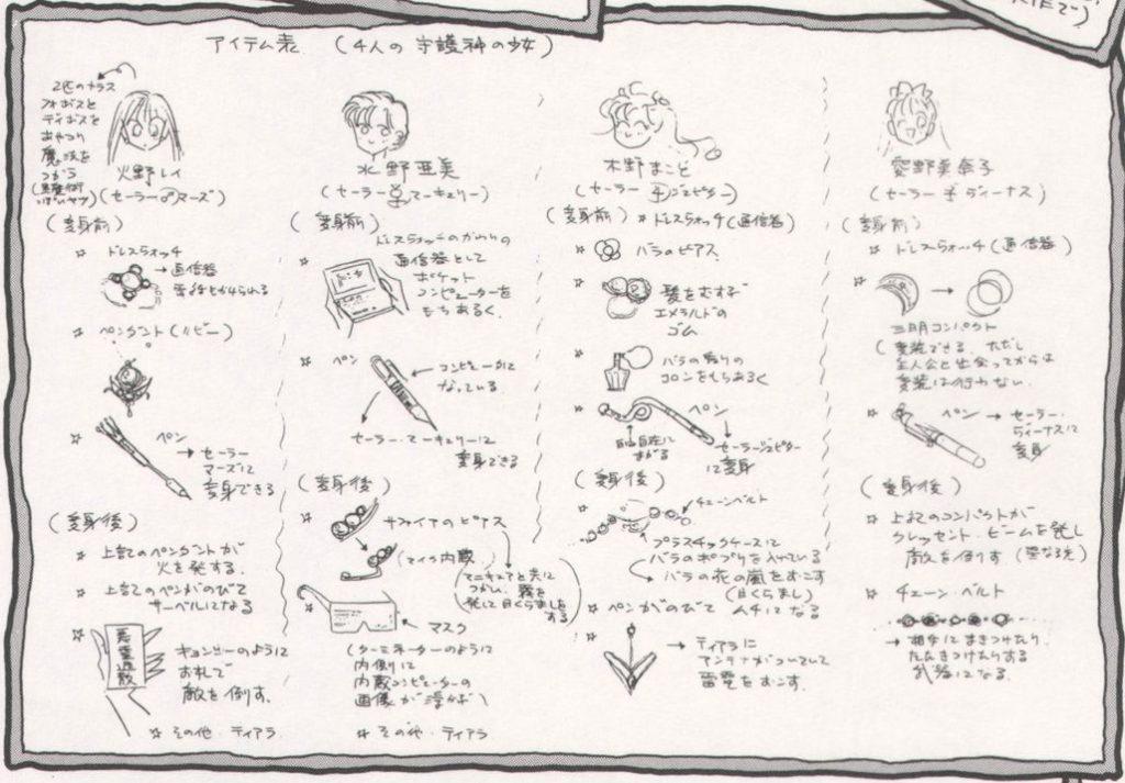 Sailor Team Concept Sketches