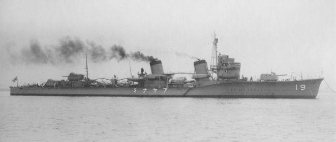 Fubuki-class Destroyer, Ayanami