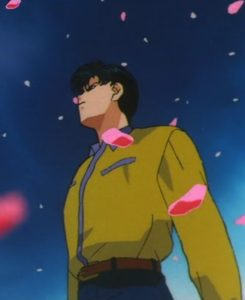 Mamoru has a sense of fashion??