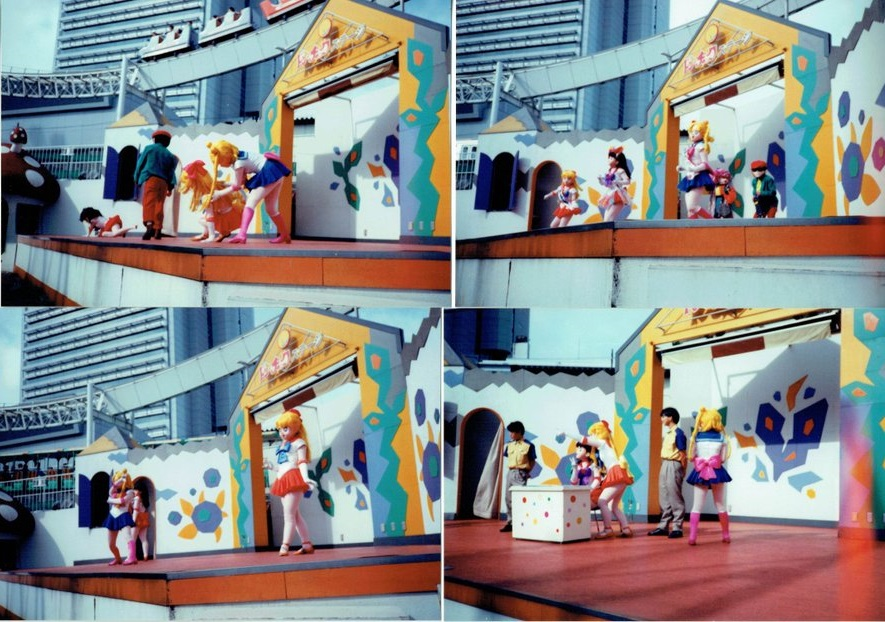 1994 Sailor Moon S stage show in Korakuen