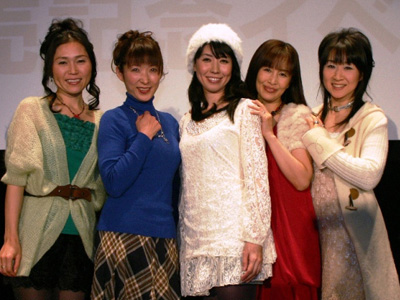 The Sailor Moon voice cast comes together in 2009