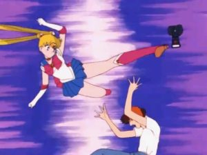 Sailor Moon says NO to creepers with cameras