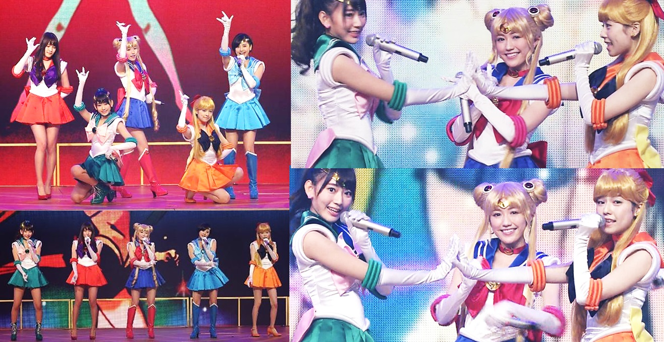 AKB48 performs Moonlight Densetsu