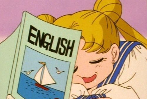 Usagi DOES study!