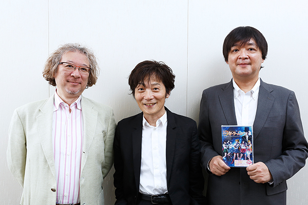 Fumio Osano (editor of Sailor Moon), far right
