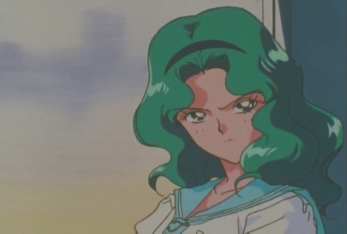 You, uh, mad Michiru?