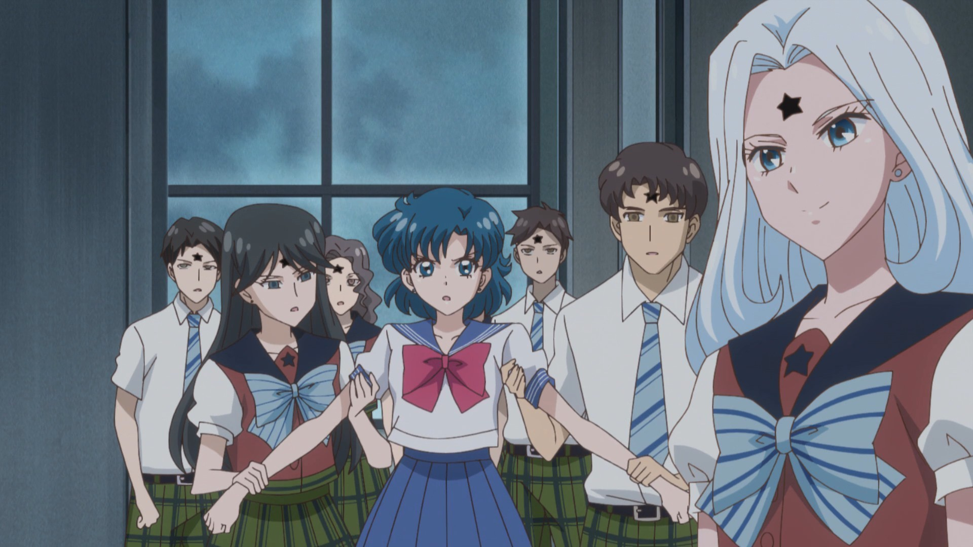 Mugen Gakuen uniform (from Crystal, but it's the same in the original anime)
