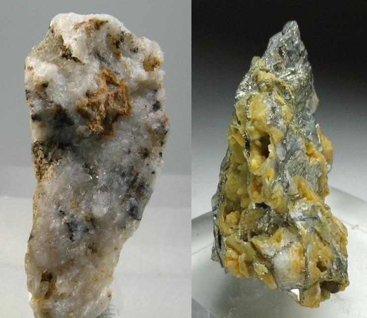 Petzite and Calaverite