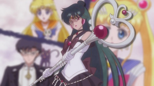 First Outer Senshi... technically.