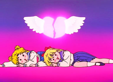 Okay, so maybe Minako and Usagi ARE twins?