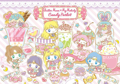 Sailor Moon x My Melody Cafe