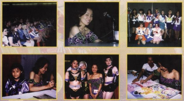 Naoko Takeuchi at San Diego Comic-Con 1998