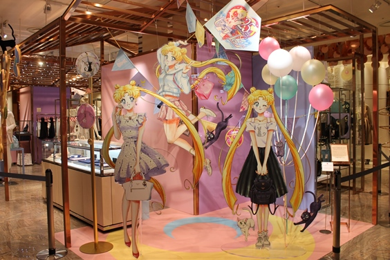 Sailor Moon coming to Isetan (2017 event)