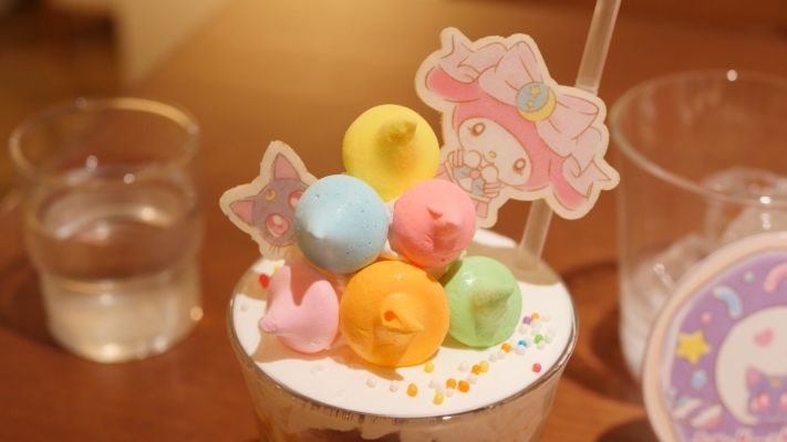 Sailor Moon x My Melody Café @ The Guest