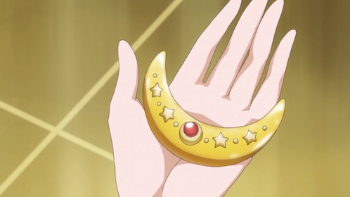 Sailor Venus' Crescent Compact