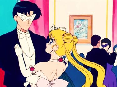 Usagi manages to hold her own on the dance floor