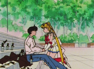 Hey, listen, Mamoru... could you stop blowing my cover?