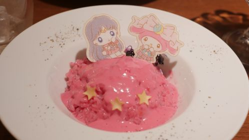 Sailor Mars & My Melody Starry Cheese Risotto