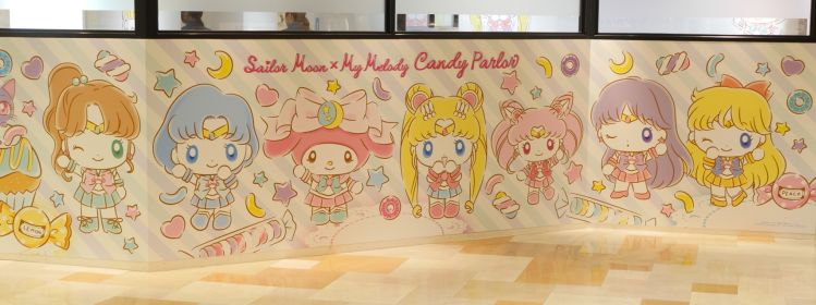The Sailor Soldiers and My Melody