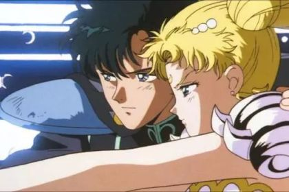 Serenity and Endymion in the Sailor Moon R movie