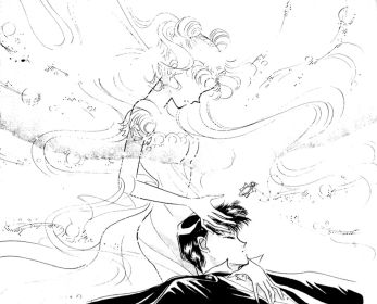 Serenity and Endymion in the manga