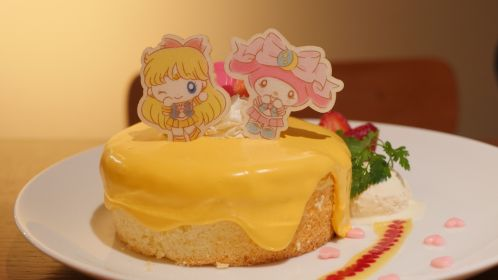 Sailor Venus' Secret Love Me Chain Cake