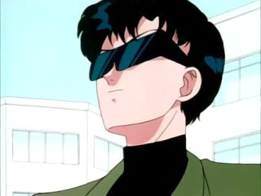 Mamoru's ready for the Sun!