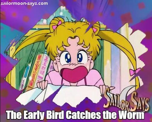 Sailor Moon Says...!