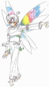 Police sketch of a Three O'Clock Fairy