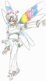 Police sketch of a Three O'Clock Fairy
