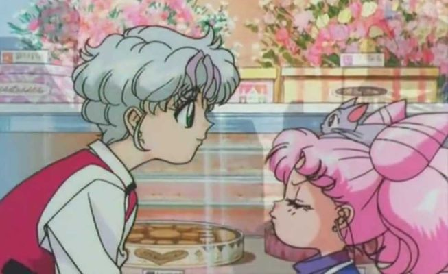 ChibiUsa is very unimpressed