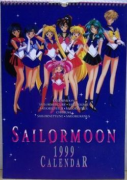 Did someone need a 1999 Sailor Moon calendar?