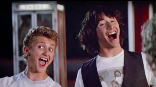Let's just do ourselves a favor and not discuss Bill and Ted