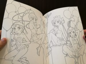 Yes, even doujin coloring books