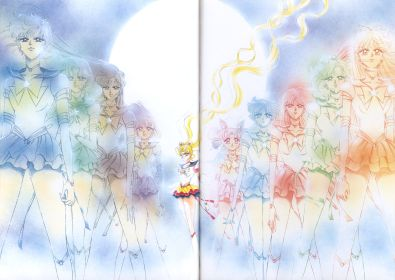 The Eternal Senshi as of the end of the Dream arc