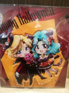 Haruka and Michiru acrylic stand