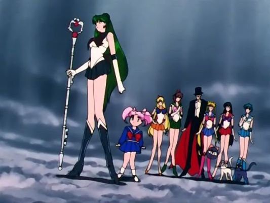 Won't the real Sailor Pluto please stand up?