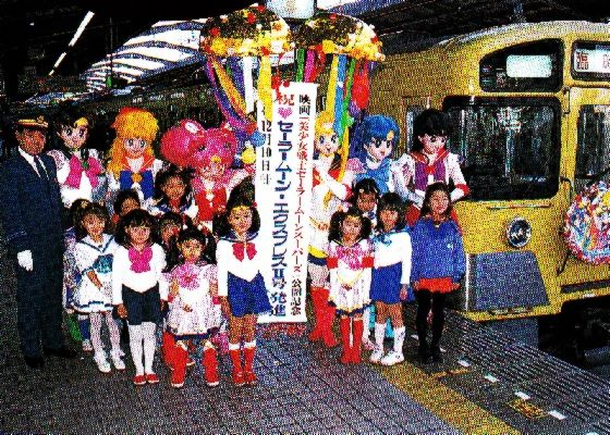 All abooooooooard the Sailor Moon Express 2
