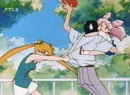 Stop making a scene, Usagi!