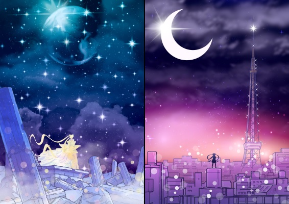 """Moon Kingdom"" and ""Juban Skyline"" Posters"